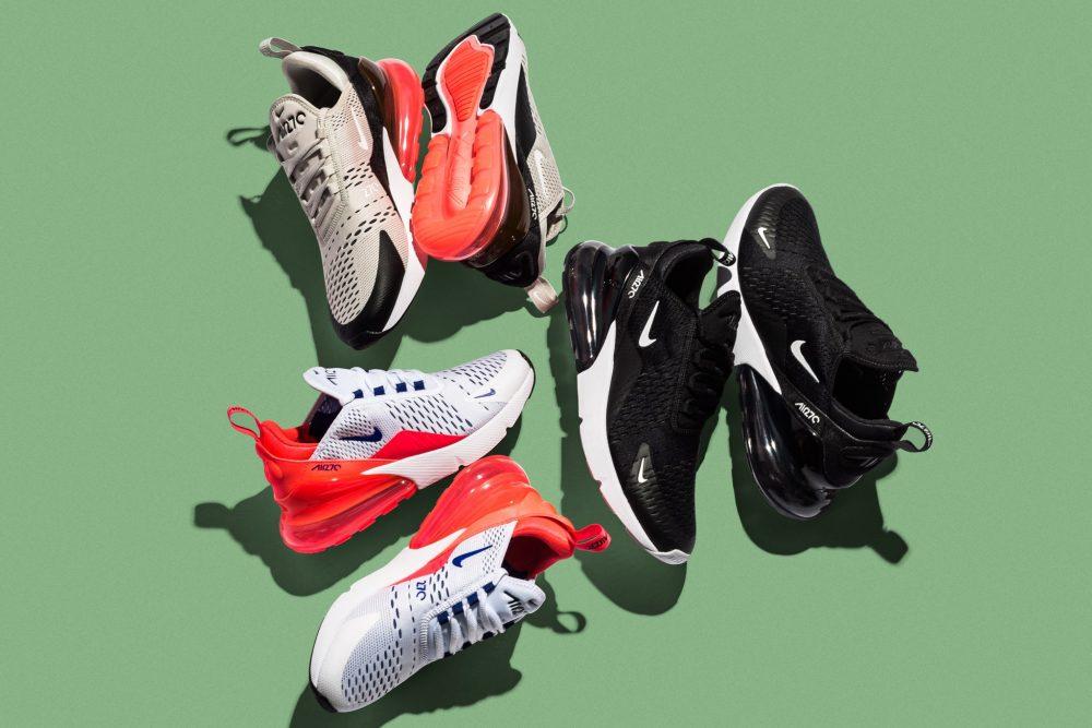 270 4 1000x667 - Swoosh Sneakers: hablemos de Nike y sus modelos más aclamados