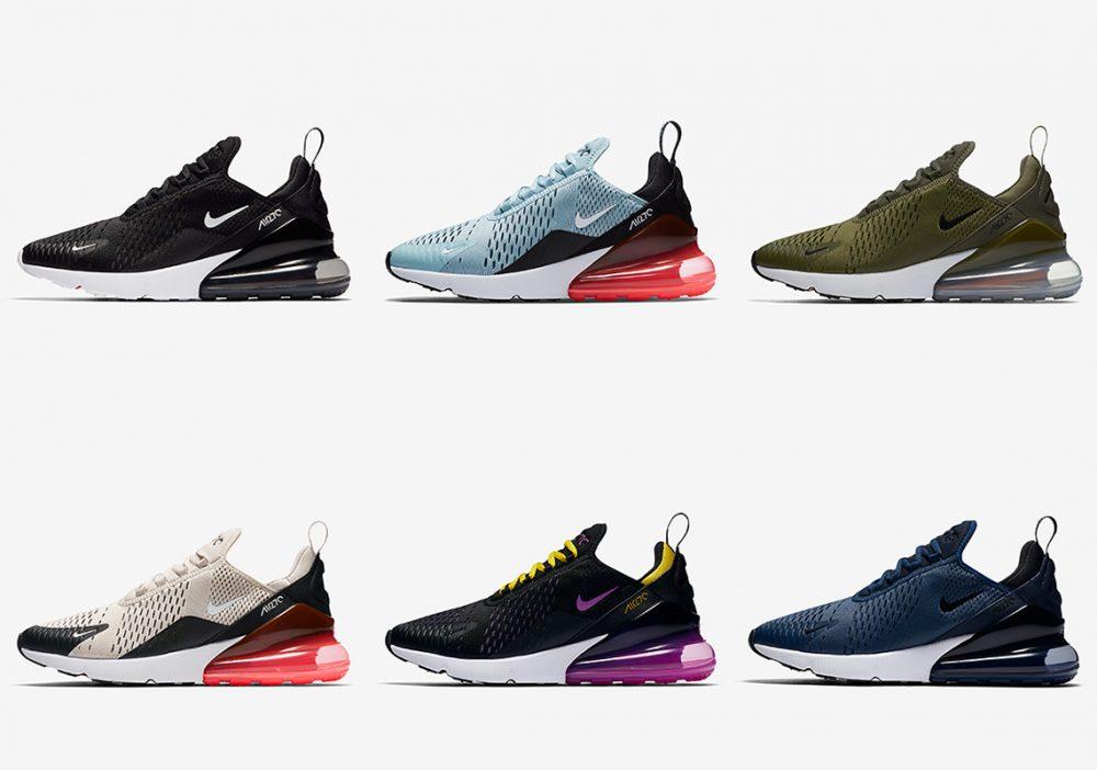 270 5 1000x702 - Swoosh Sneakers: hablemos de Nike y sus modelos más aclamados