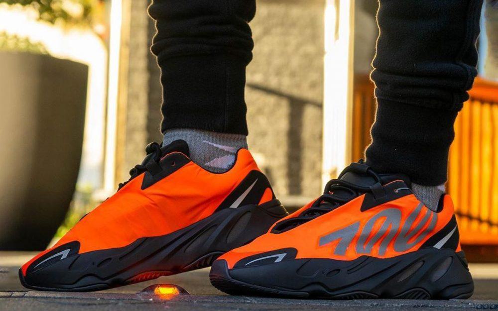 Las nuevas Yeezy 700 MNVN 'Orange' se lanzarán regionalmente