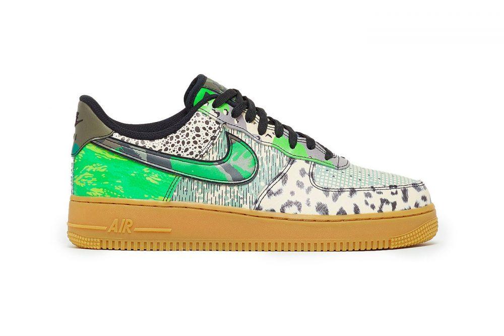 Las Nike Air Force 1 «City of Dreams» reciben su contraparte verde