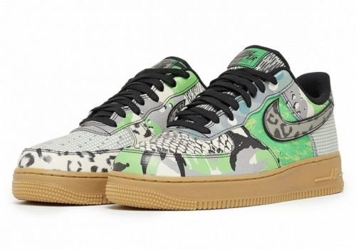 """airrr 500x351 - Las Nike Air Force 1 """"City of Dreams"""" reciben su contraparte verde"""