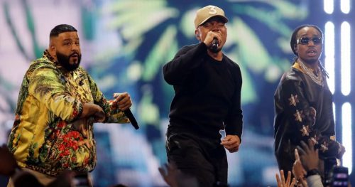 Chance, Lil Wayne, Quavo y más brillan en el descanso del All Star