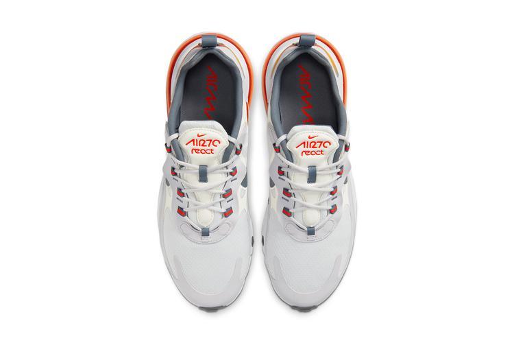 https  hypebeast.com image 2020 02 nike air max 270 react cd0132 002 1 - Nike reinventa las Air Max 98, 270 React y 200 con tonos metálicos