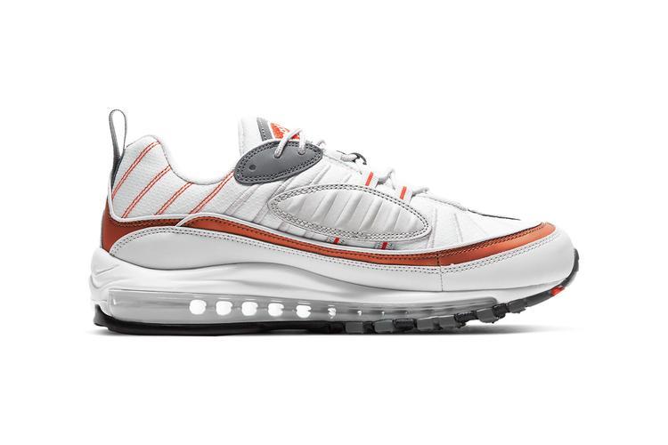 https  hypebeast.com image 2020 02 nike air max 98 cd0132 002 2 - Nike reinventa las Air Max 98, 270 React y 200 con tonos metálicos