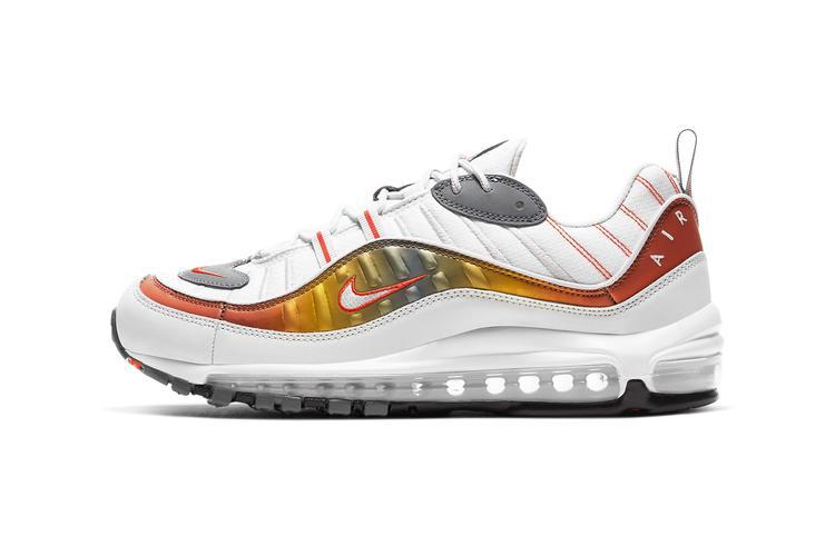 Nike reinventa las Air Max 98, 270 React y 200 con tonos metálicos