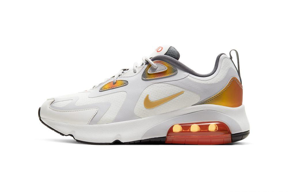 nike air max 200 at8507 100 2 1000x667 - Nike reinventa las Air Max 98, 270 React y 200 con tonos metálicos