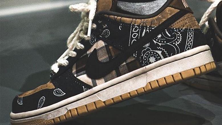 Roban unas Nike SB Dunk Low x Travis Scott a horas de su lanzamiento