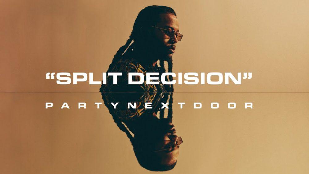 PARTYNEXTDOOR nos trae su nuevo single 'Split Decision'