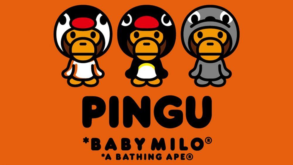 BAPE recluta a «Pingu» para su última colección colaborativa