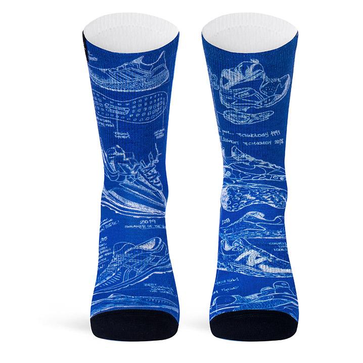 "pacificandco calcetines socks women man sneakers nike adidas kicks hype BLUEPRINT cara 1 - Pacific and Co presenta ""Sons of Hype"", o los calcetines que todos querrán"