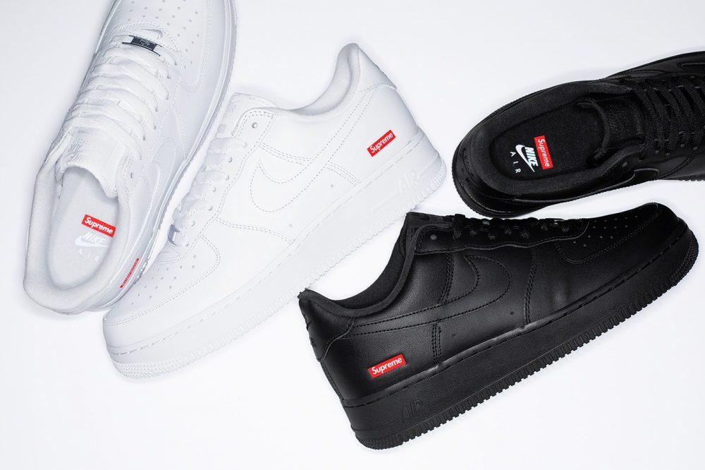 Las nuevas Supreme x Nike Air Force 1 salen esta semana