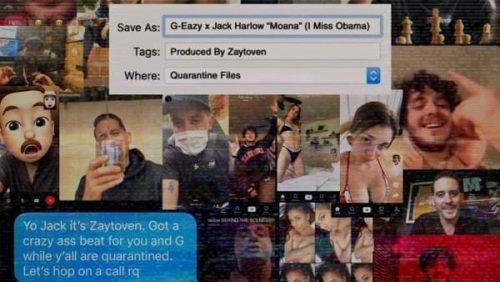 G-Eazy y Jack Harlow se unen a Diddy, YG y más en el vídeo de 'Moana'