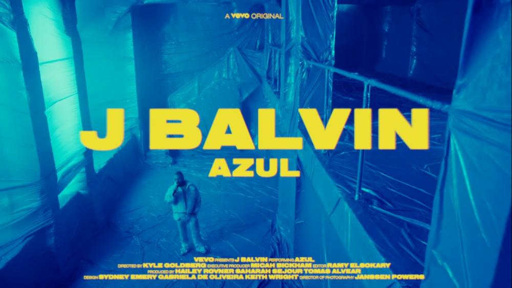 J Balvin lanza los vídeos «Live Performance» de 'Rojo', 'Negro' y 'Azul'