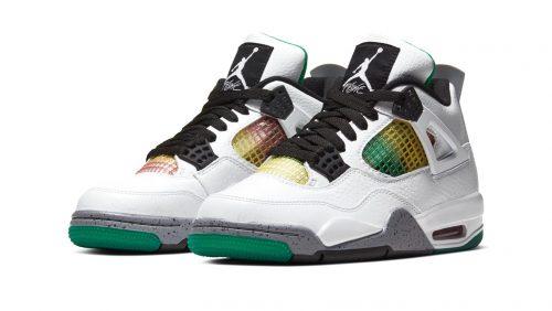 Entérate de los detalles del lanzamiento de las Air Jordan 4 «Lucid Green»