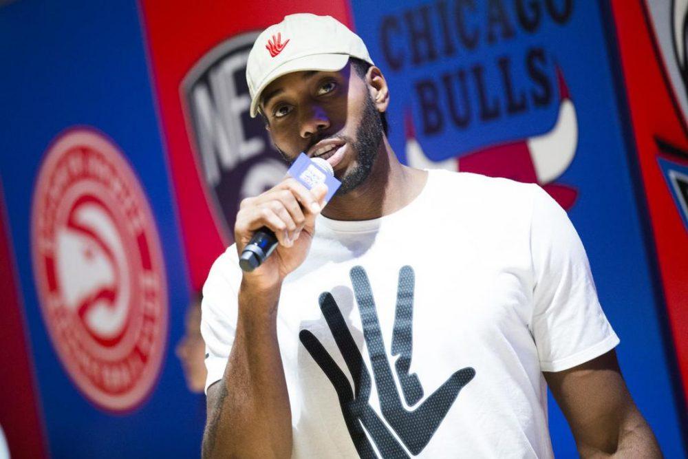 Kawhi Leonard pierde contra Nike y no podrá usar su famoso logo 'Klaw'