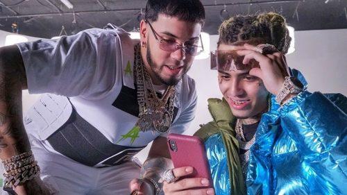 Anuel AA y Lil Pump son los reyes de todo en 'Illuminati'
