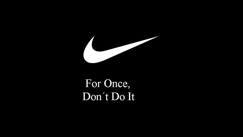 Nike cambia su eslogan a «Don't Do It» por el asesinato de George Floyd