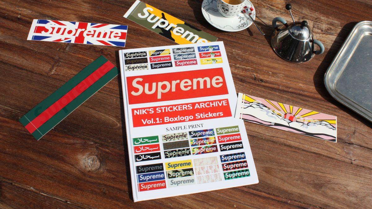 Hablamos con el hombre que ha coleccionado todas las pegatinas de Supreme