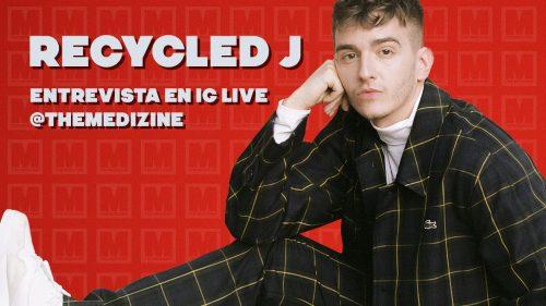 ¡Te traemos la entrevista con Recycled J que tuvimos en Instagram!