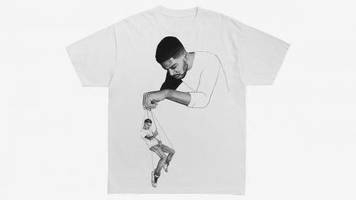 Kid Cudi y Virgil Abloh lanzan juntos una camiseta de edición limitada