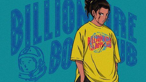 BBC se inspira en el manga para la nueva colección de ICE CREAM