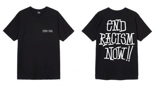 Stüssy se posiciona en contra del racismo con una camiseta benéfica