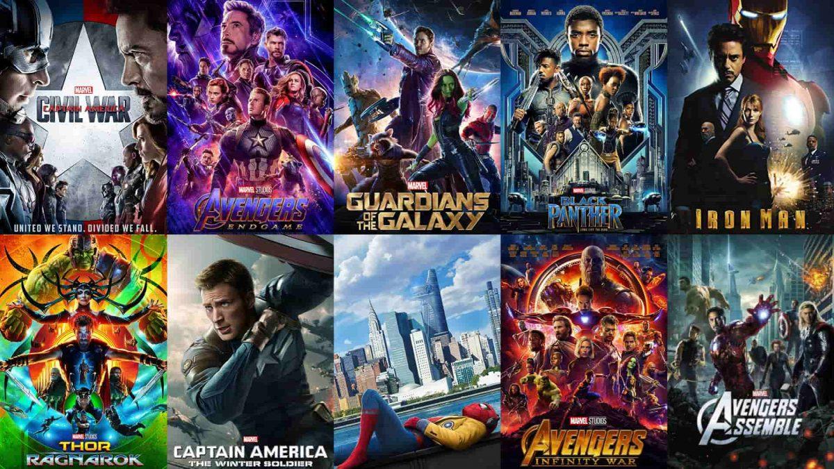 Las mejores películas del universo cinematográfico Marvel