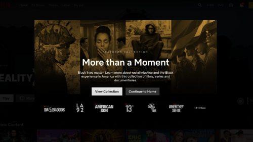 Netflix lanza una colección con relación al 'Black Lives Matter'