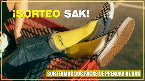 ¡SORTEAMOS 2 PACKS DE PRENDAS DE SAK CON NUESTRO JUEGO!