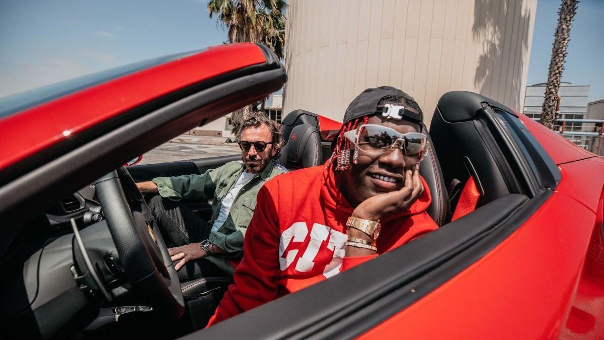 Lil Yachty ha destrozado su Ferrari en un accidente de coche
