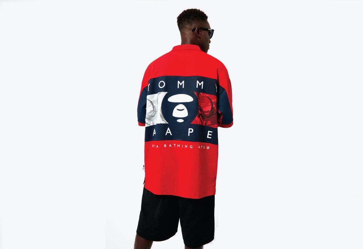 El hip hop inspira lo nuevo de Tommy Jeans x AAPE by A Bathing Ape