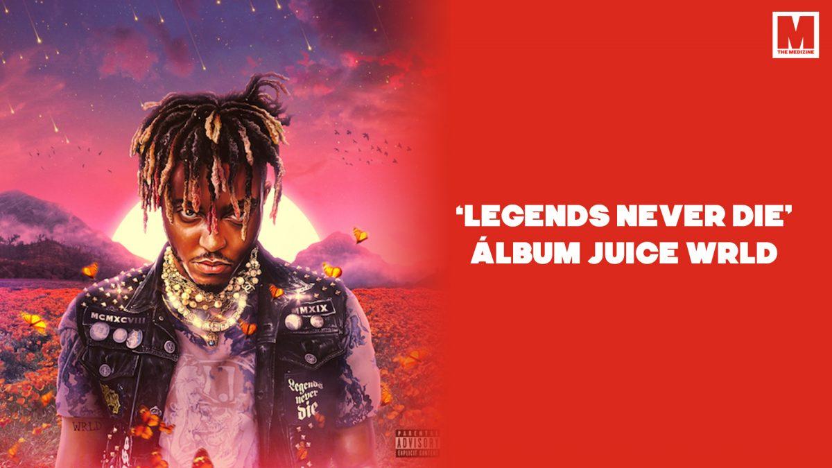 Ya puedes escuchar 'Legends Never Die', el álbum póstumo de Juice WRLD