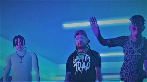 Yung Beef, Alex Fatt y Pablo Chill E juegan con la animación en 'Generaciones'