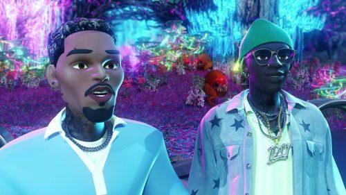 Young Thug y Chris Brown se pasan a la animación para el vídeo de 'Say You Love Me'