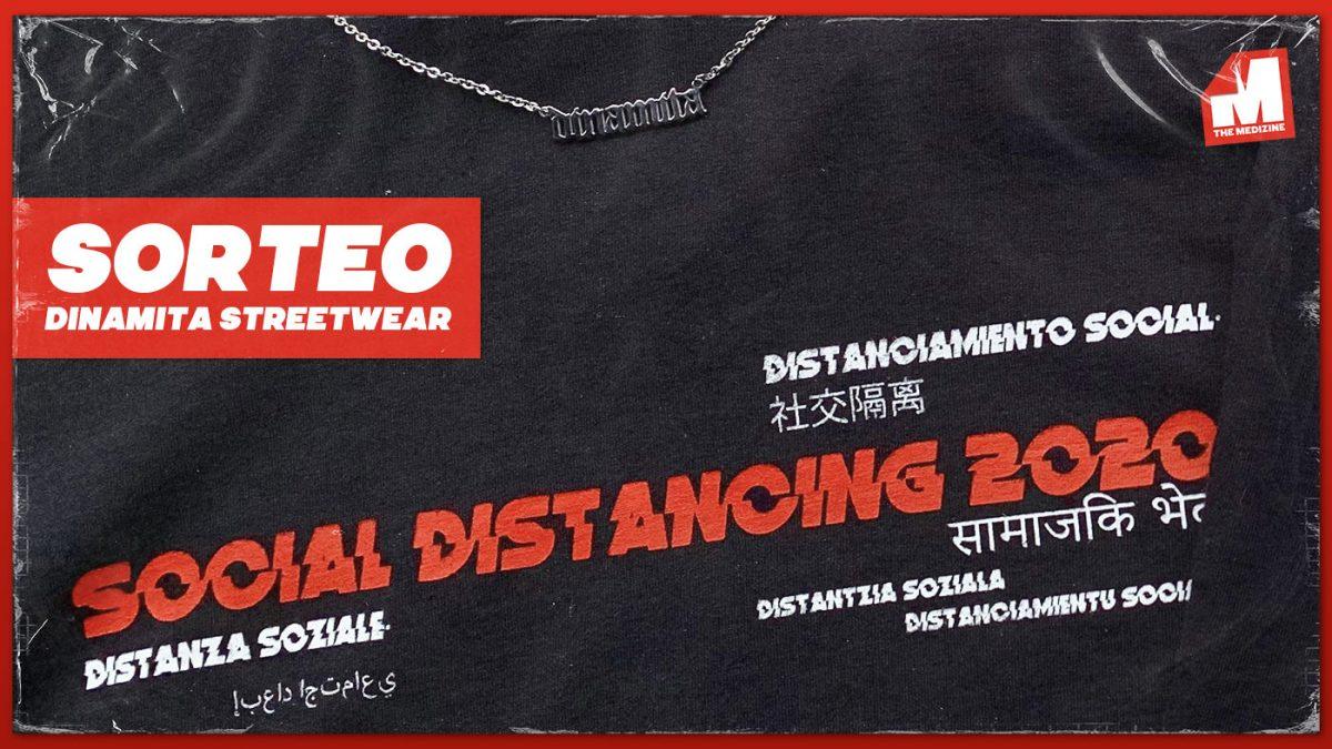 ¡Sorteamos una camiseta y un collar de Dinamita Streetwear!
