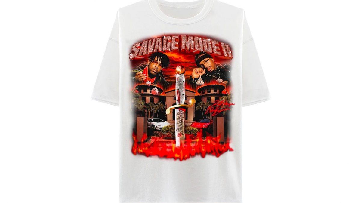 21 Savage y Metro Boomin lanzan el merchandising de 'Savage Mode II'