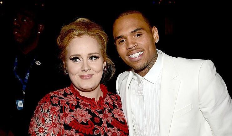 Pillan a Chris Brown saliendo de casa de Adele y saltan los rumores de relación