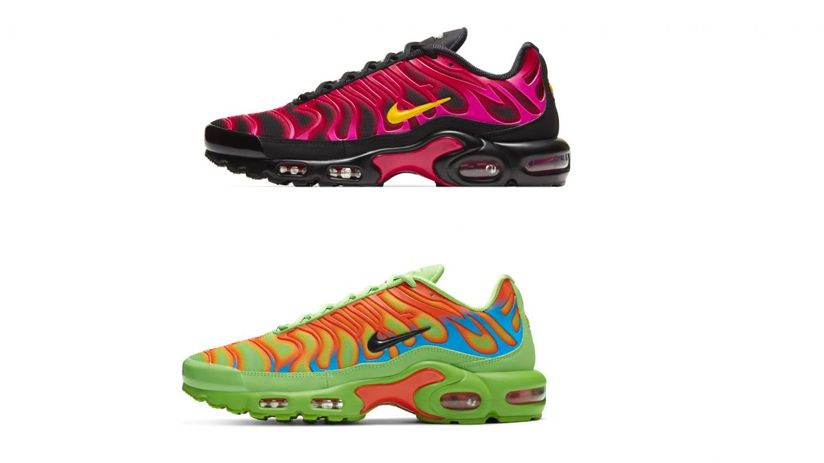 Supreme y Nike anuncian el regreso de las Air Max Plus TN «Fire Pink» y «Mean Green»