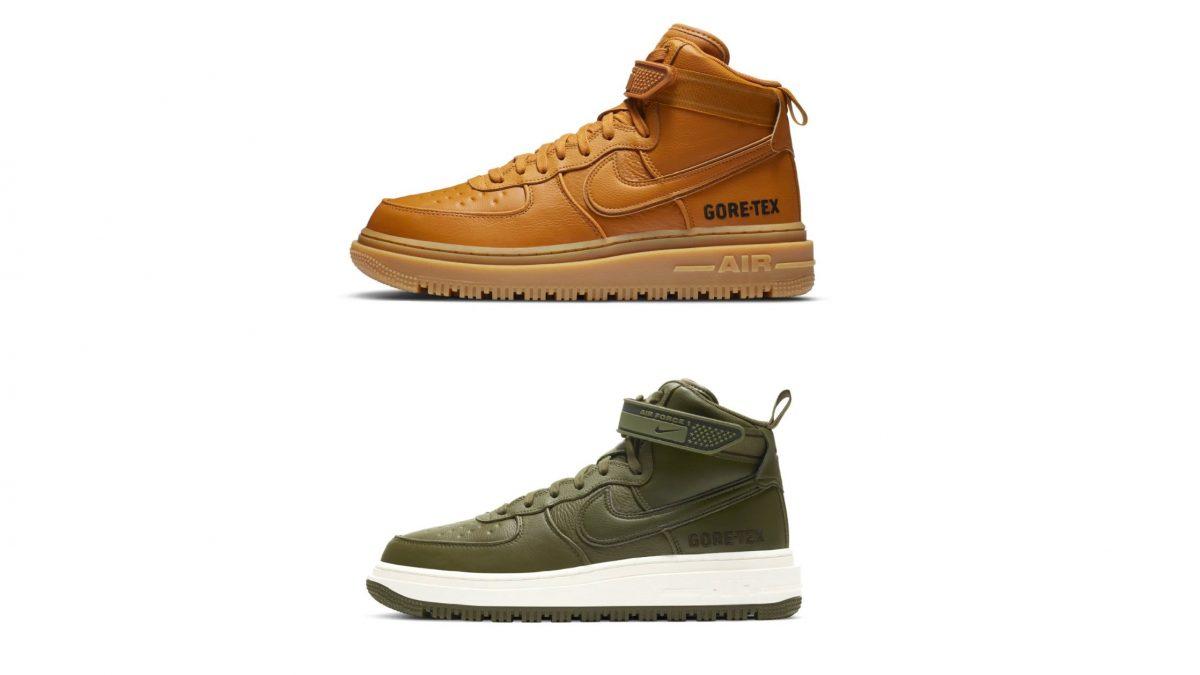 Descubre dónde conseguir las nuevas Air Force 1 GORE-TEX «Wheat» y «Olive»