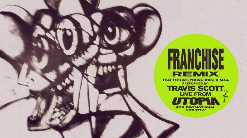 Future se une al remix de 'Franchise' de Travis Scott, Young Thug y M.I.A.
