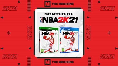 ¡Sorteamos dos juegos NBA 2K21 para PS4 y Xbox One / Xbox Series X!