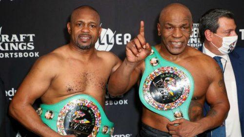 El combate entre Mike Tyson y Roy Jones termina en empate