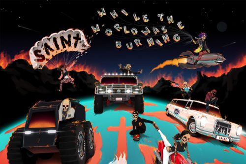 SAINt JHN estrena 'While the World Was Burning', su nuevo disco
