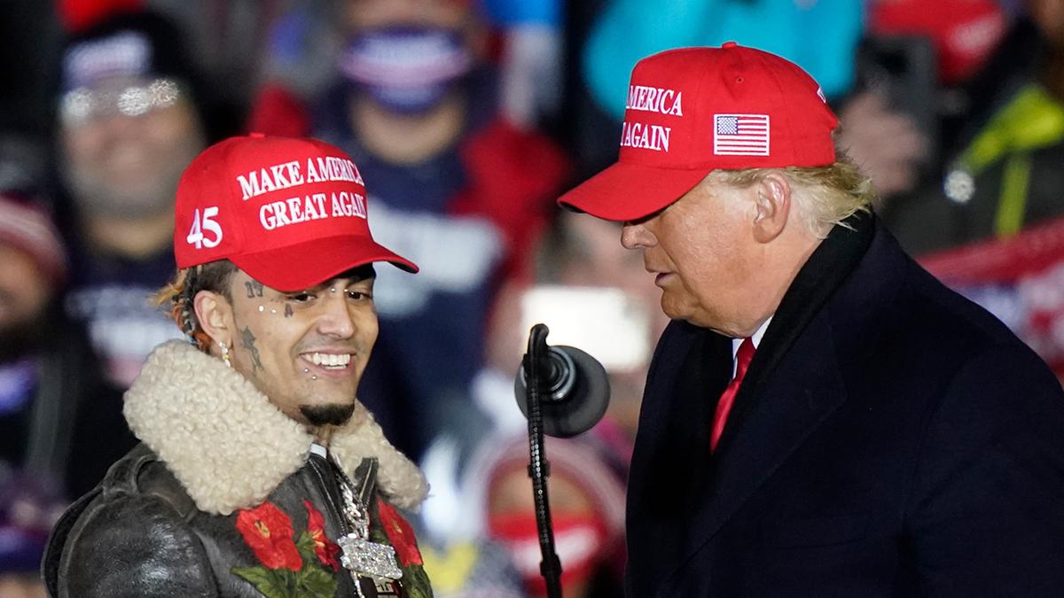 Lil Pump advierte que se irá de Estados Unidos si no gana Trump