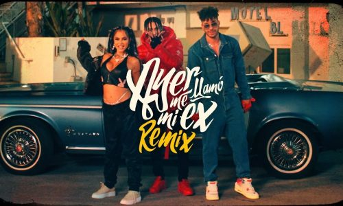 Khea recluta a Natti Natasha y Prince Royce para el remix de 'Ayer me llamó mi ex'