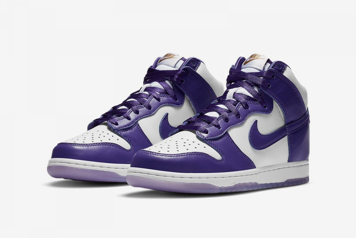 Nike sigue dándole vida a las SB Dunk High con las «Varsity Purple»