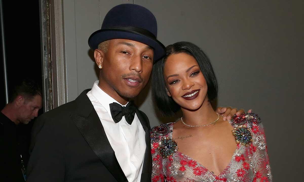 Pharrell Williams dice que Rihanna parece «de otro planeta» en el nuevo álbum
