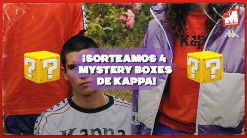 ¡Sorteamos 4 Mystery Boxes con prendas de Kappa!
