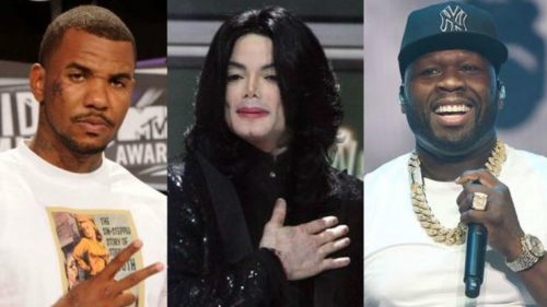 La historia de cuando Michael Jackson medió entre 50 Cent y The Game