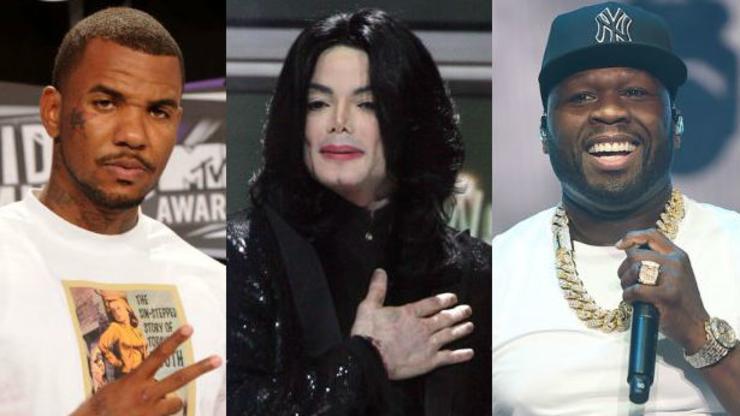 La historia de cuando Michael Jackson medió entre 50 Cent y The Game